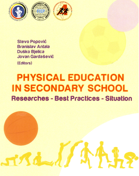 Agustí Castillo Physical Education in Sencodary Schools